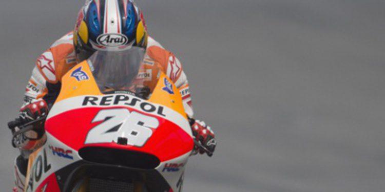 Dani Pedrosa manda en el FP3 de MotoGP en Malasia