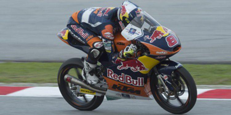 Pole de Moto3 de Miller en Sepang con caída de Márquez