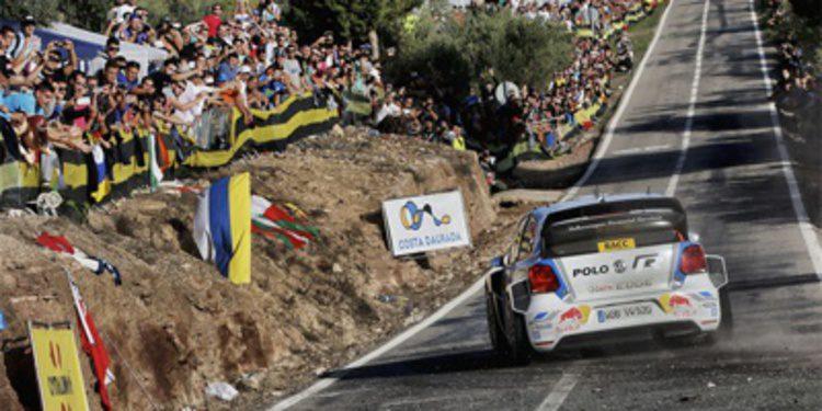 Latvala ataca en el asfalto del Rally RACC pero Ogier manda