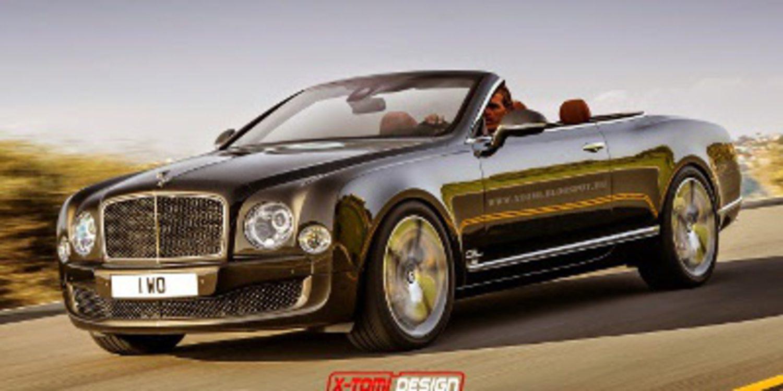 Bentley Mulsanne Speed cabriolet en render
