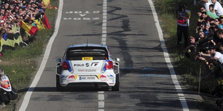 Sebastien Ogier cerca del título y de la victoria en el Rally RACC