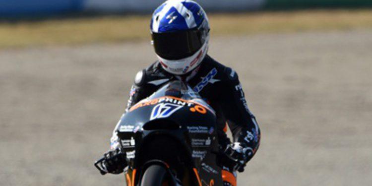 John McPhee manda en el warm up de Moto3 malasio