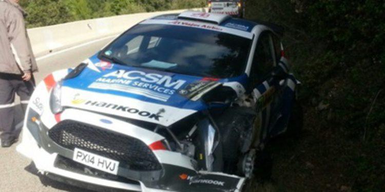 Xevi Pons acaba en el hospital tras su golpe en el Rally RACC