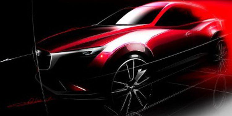 Mazda presenta en Los Angeles el crossover CX-3