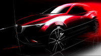 Mazda presenta en Los Angeles el crossover CX-3