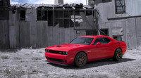 Así se hace: Muscle car Dodge Challenger Hellcat