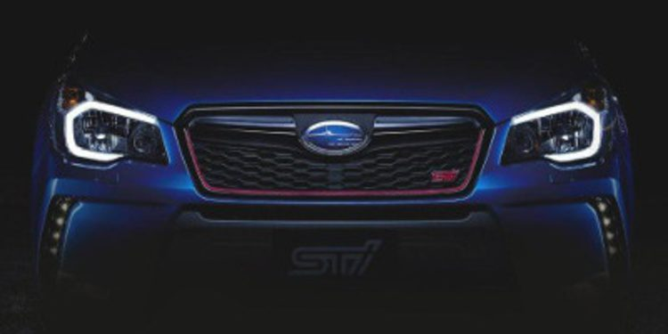 Subaru nos sorprende con el Forester STI