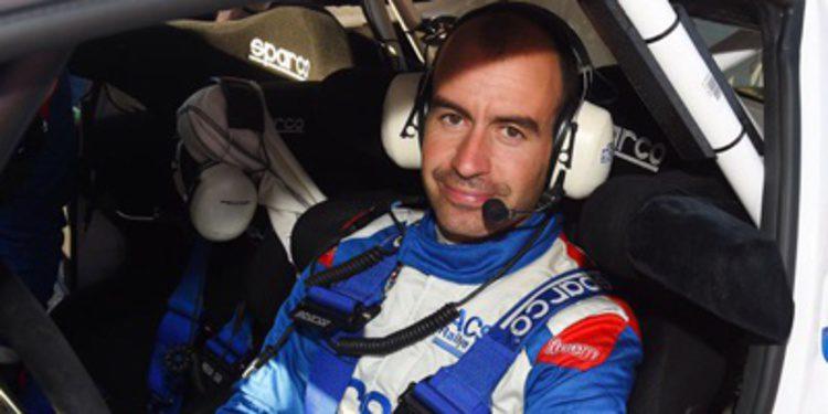 Xevi Pons se fractura una costilla en el Rally RACC