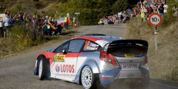 Lista de inscritos del Rally de Gales GB del WRC 2014