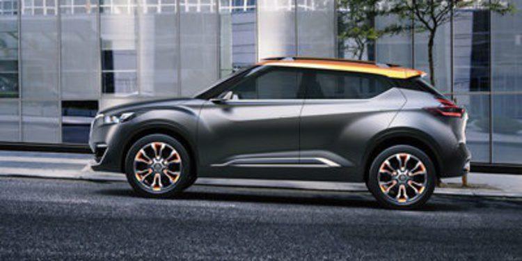 Nuevo Nissan Kicks Concept en el Salón de Sao Paulo