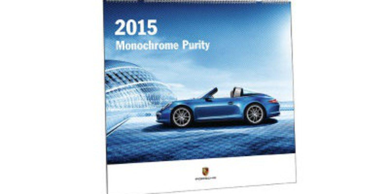 "Porsche y su calendario ""Pureza Monocromática"""