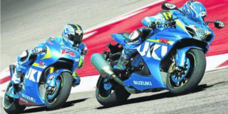 Colores MotoGP en la Suzuki GSX-R600 y GSX-R750