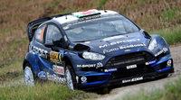 El nuevo Ford Fiesta RS WRC de M-Sport en Portugal