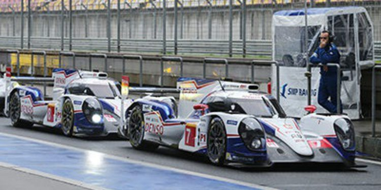 Toyota consigue otro doblete en el FP2 de Shanghai