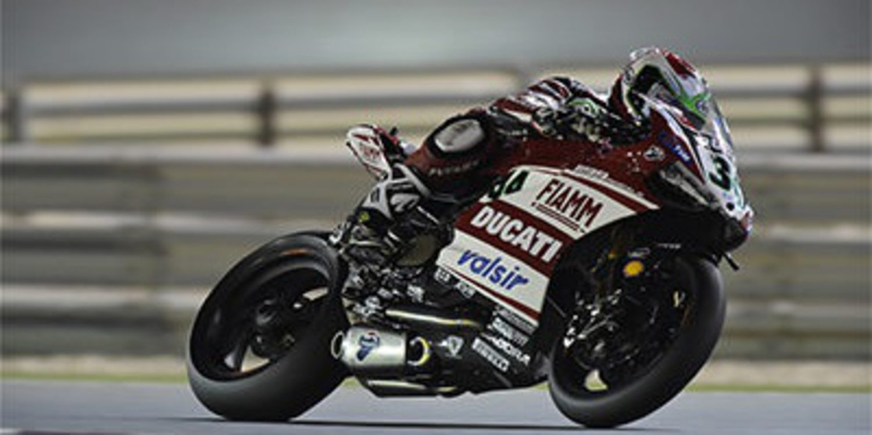 Davide Giugliano, el más rápido del FP3 en Losail