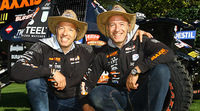 Los hermanos Tim y Tom Coronel regresan al Dakar
