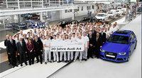 El Audi A4 celebra su 20 aniversario