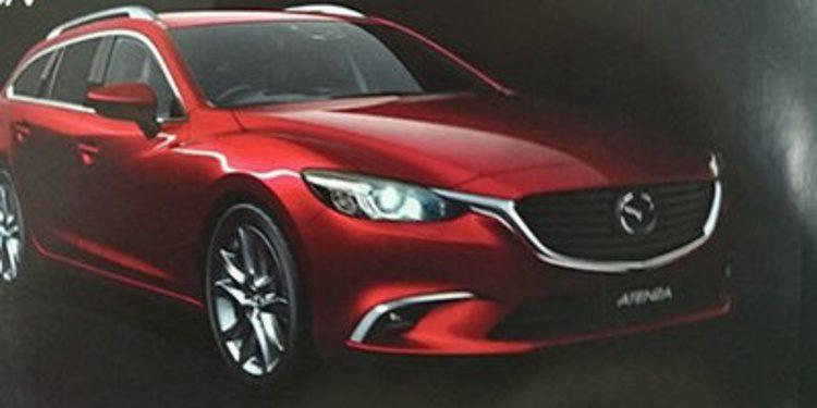 Filtrado antes de tiempo el restyling del Mazda 6