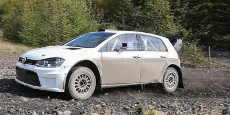 El Volkswagen Golf WRC 2.0 debuta en China con Atkinson