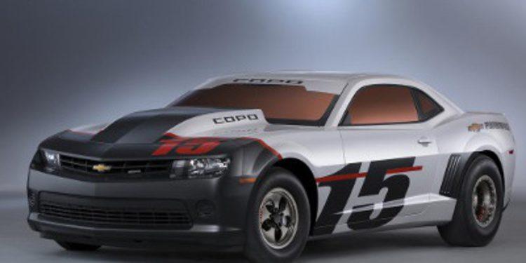 Chevrolet presenta el COPO Camaro 2015