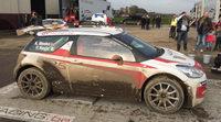 Meeke exprime en el Rally du Condroz el Citroën DS3 R5