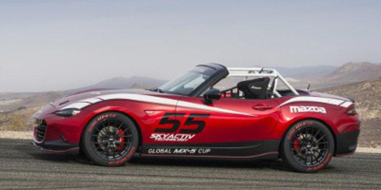 Mazda lanza una versión de competición del nuevo MX-5
