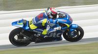 Suzuki estrena la GSX-RR en MotoGP con un 'wild card' en Valencia
