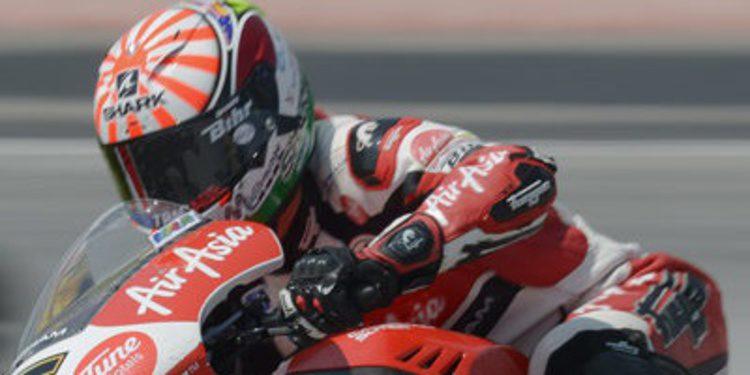 Arranque fuerte en Moto2 para Johann Zarco en Cheste