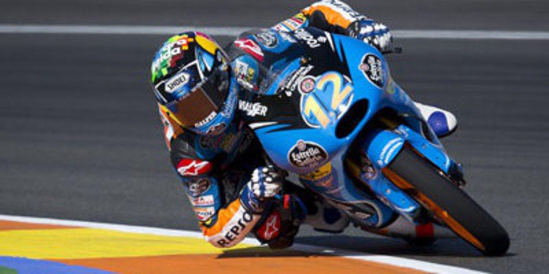 Pole de Moto3 para Antonelli con Miller y Márquez en primera fila