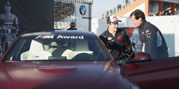 Otro BMW M4 Coupé para Marc Márquez por sus clasificaciones