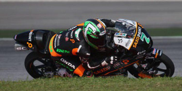 Efrén Vázquez seguirá en Moto3 con Honda en 2015