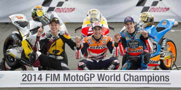 Así queda el Mundial MotoGP 2014 tras el GP de Valencia