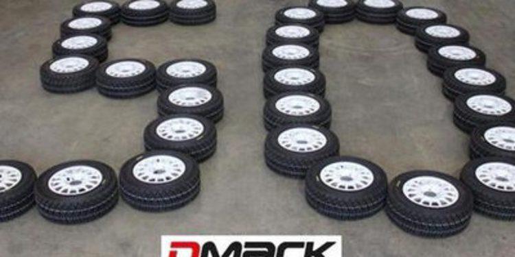50 pruebas en el Mundial de Rallies para DMACK
