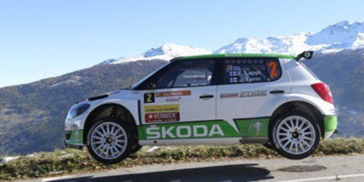Skoda sigue la racha en el ERC con Esapekka Lappi