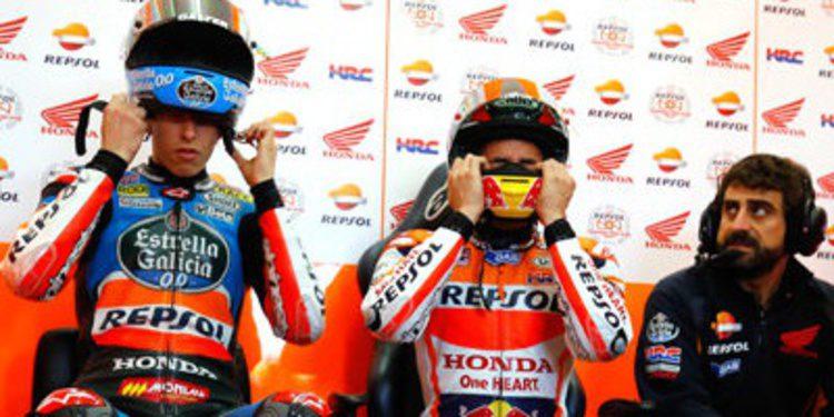 Estrenos y liderato de Lorenzo en el inicio del test post-GP de MotoGP