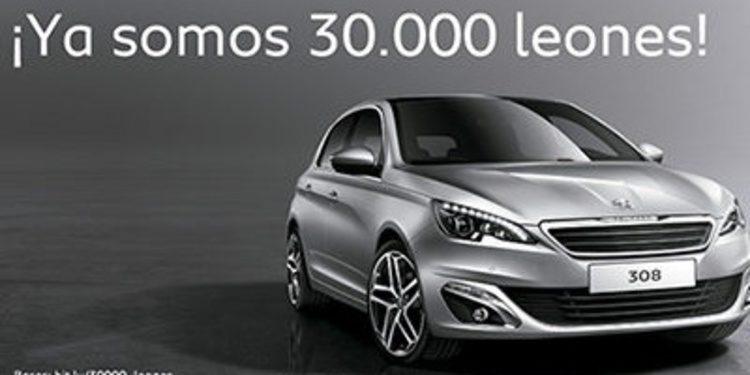 Peugeot celebra sus 30.000 seguidores de Twitter