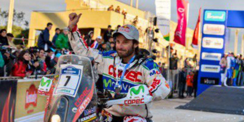 Chaleco López se queda fuera del Dakar 2015