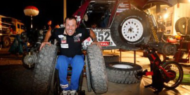 Albert Llovera al Dakar 2015 con un Buggy Optimus MD