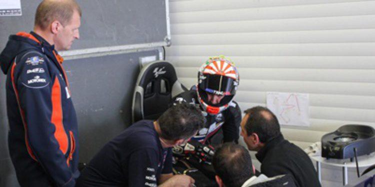 Johann Zarco lidera el inicio del test de Moto2 y Moto3 en Jerez