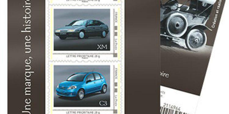 El servicio postal francés homenajea a Citroën