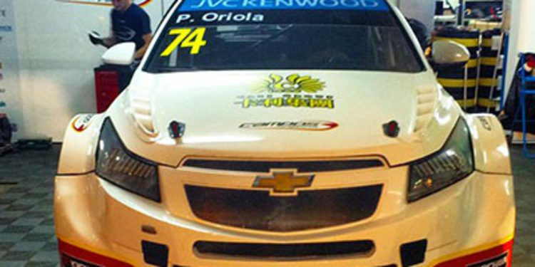 Así es el coche de Pepe Oriola para Macao