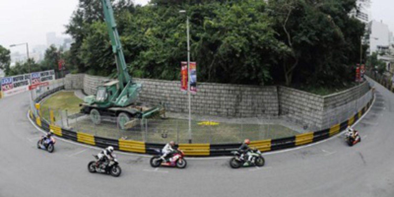 Michael Rutter domina el FP1 de Macao en Superbikes