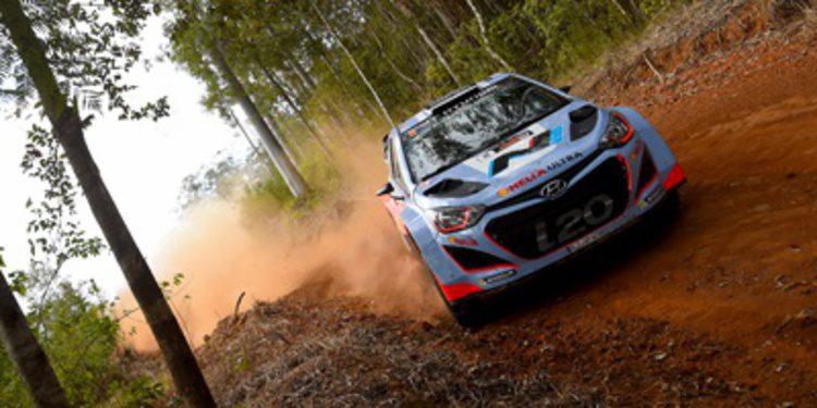 El barro será un reto para el Hyundai i20 WRC en Gales