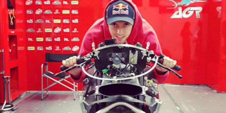 Jonas Folger domina el 2º día de test en un mojado Jerez