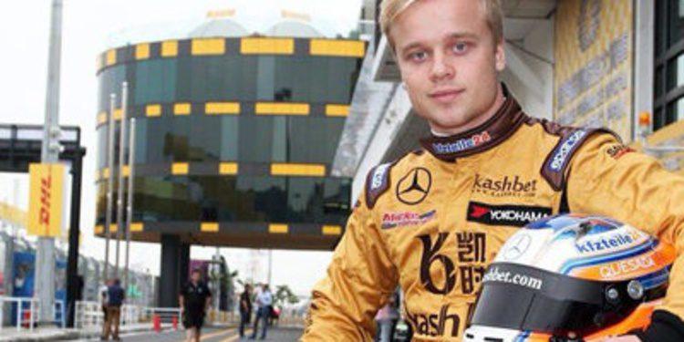 Felix Rosenqvist pole para la carrera clasificatoria de F3 en Macao