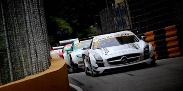 Edoardo Mortara pole en la GT Cup entre banderas rojas