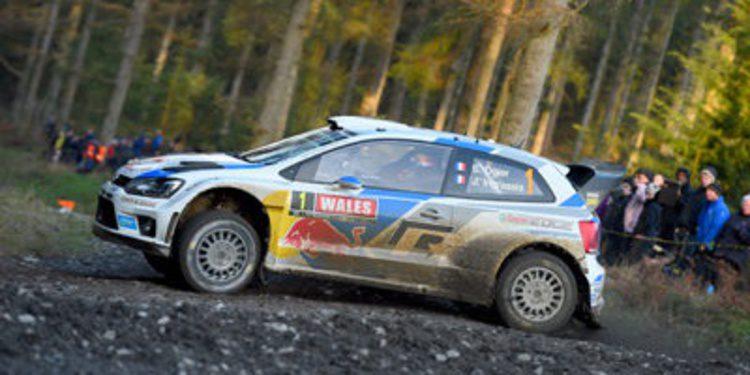 Sebastien Ogier gana el Rally de Gales y Al-Attiyah es campeón en WRC2