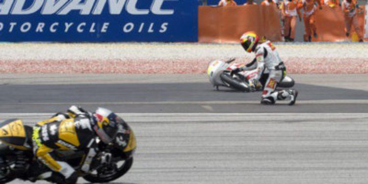 El Mundial de MotoGP 2014 resumido en caídas