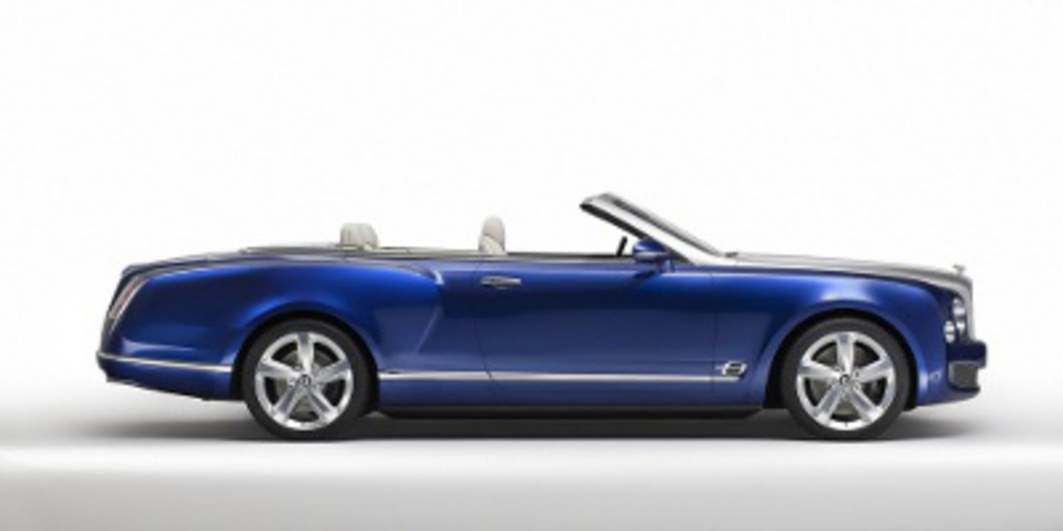 Bentley presenta el Grand Convertible concept