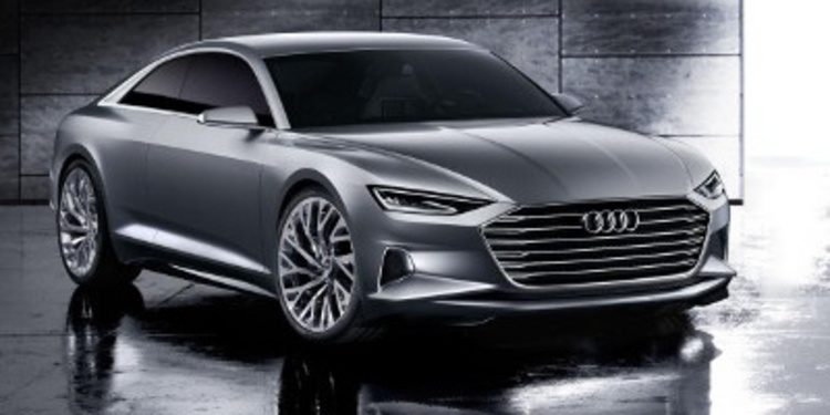 Audi destapa su buque insignia con el Prologue